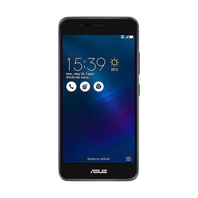 Harga Asus Zenfone 3 Max Zc520Tl Smartphone Grey 32 Gb 2 Gb Satu Set